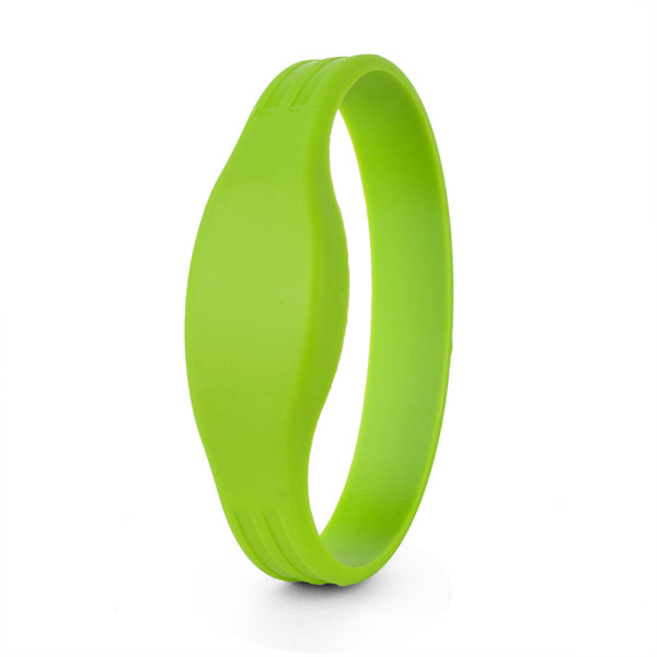 green rfid wristbands for events