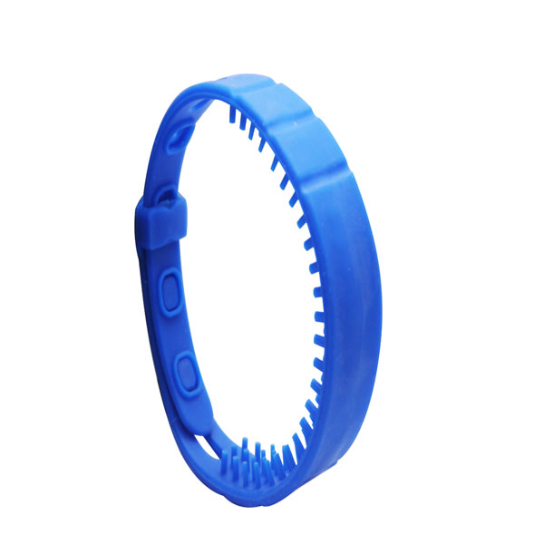 rfid wristbands for events in blue