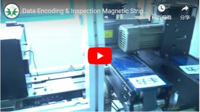 Data Encoding & Inspection Magnetic Strip Card