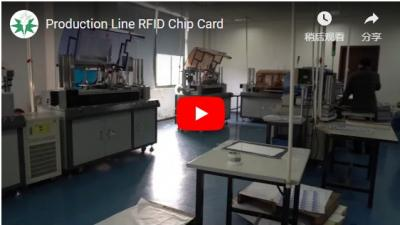 Production Line RFID Chip Card