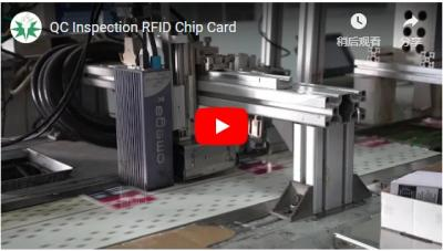 QC Inspection RFID Chip Card